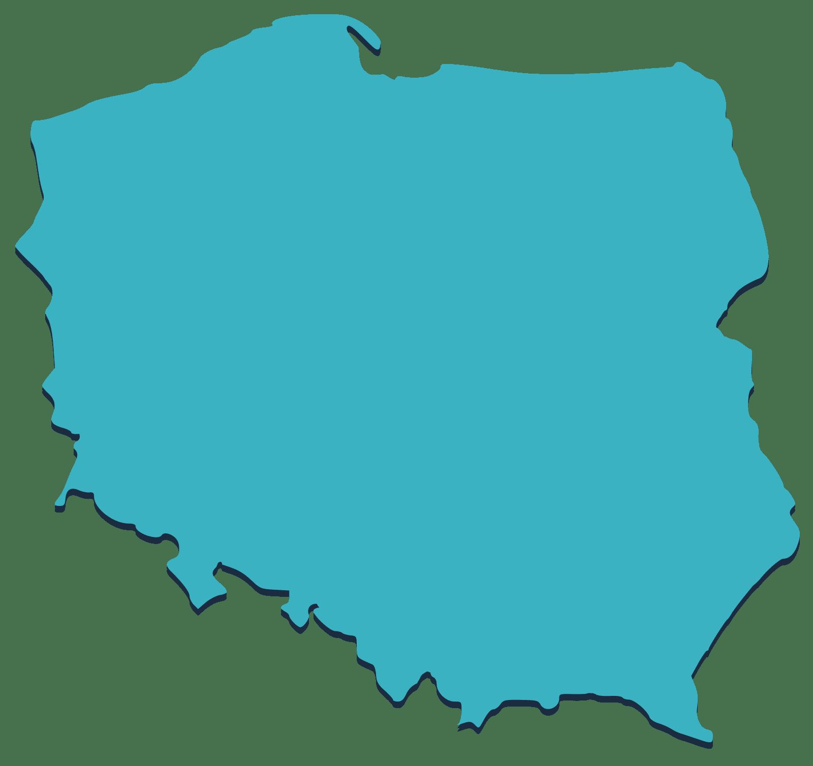 mapa polski, dotacje ogólnokrajowe