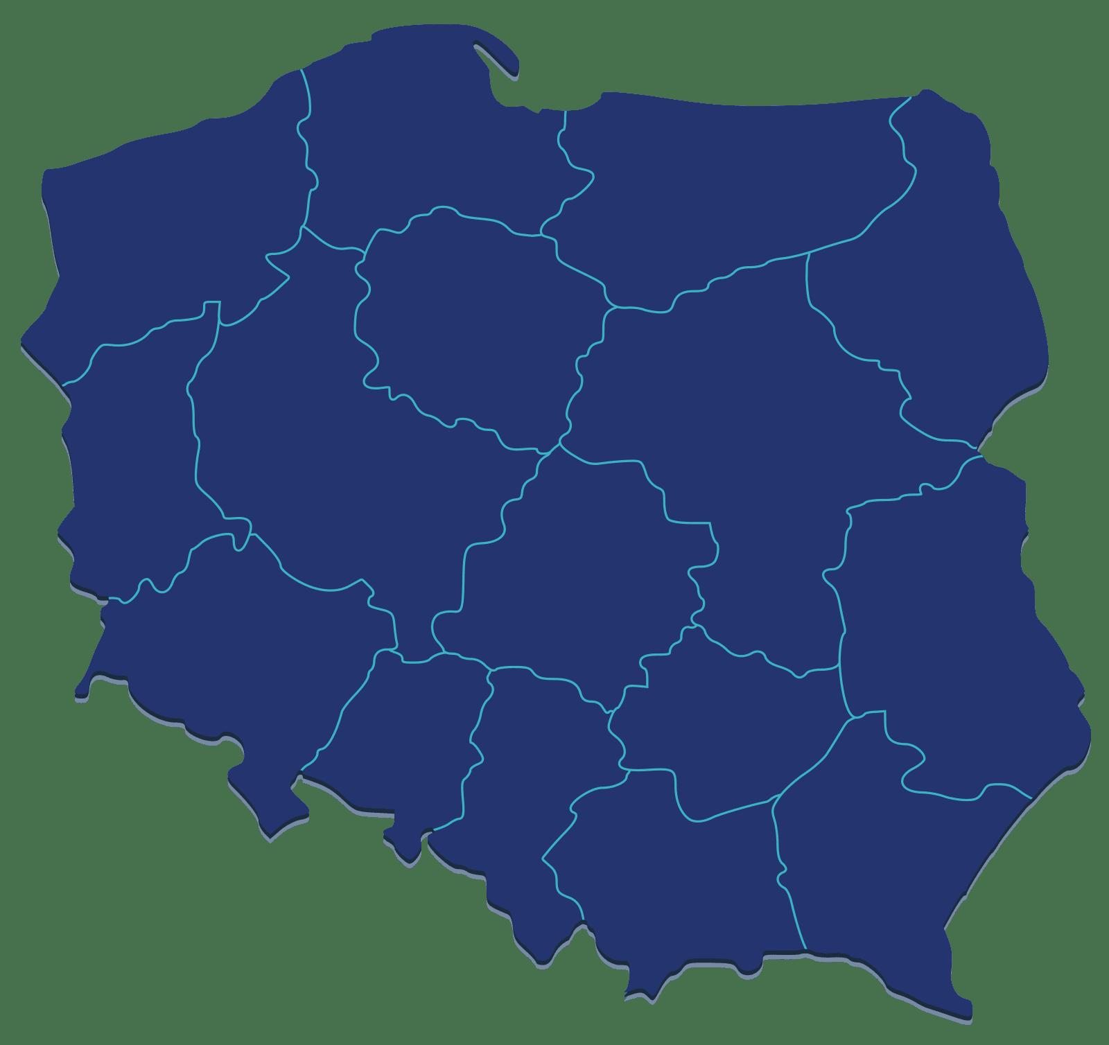 mapa polski, dotacje unijne, dotacje regionalne, regionalny program operacyjny