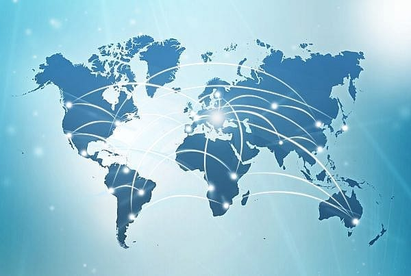 internacjonalizacja mapa świata eksport doradztwo eksportowe